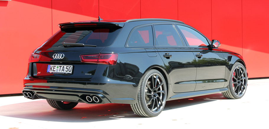 ABT Audi AS6 Rear View