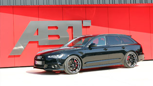 abt audi as6 gets more power and attitude