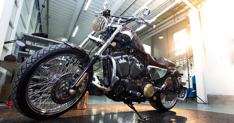 Art Studio Vilner - Beijing Harley Davidson is first completed project