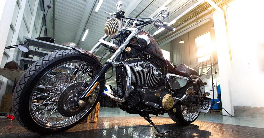 Art Studio Vilner - Beijing Harley Davidson is first completed project