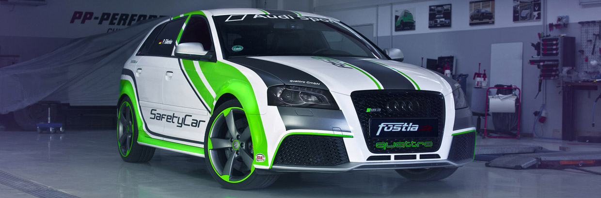 Audi RS3 Safety Car by Fostla.de Front View