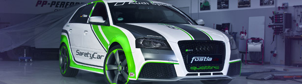 Fostla.de and PP-Performance Gather for a Special Audi RS3 Safety Car