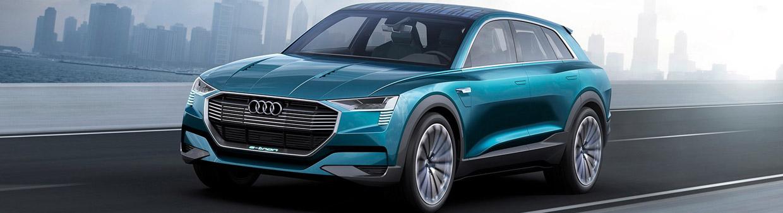 Audi e-tron quattro concept  Front View