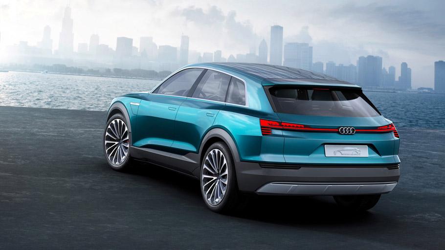 Audi e-tron quattro concept  Rear View