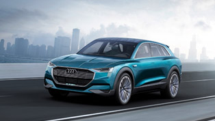 Audi e-tron quattro concept is the Next Tesla Model S Competitor