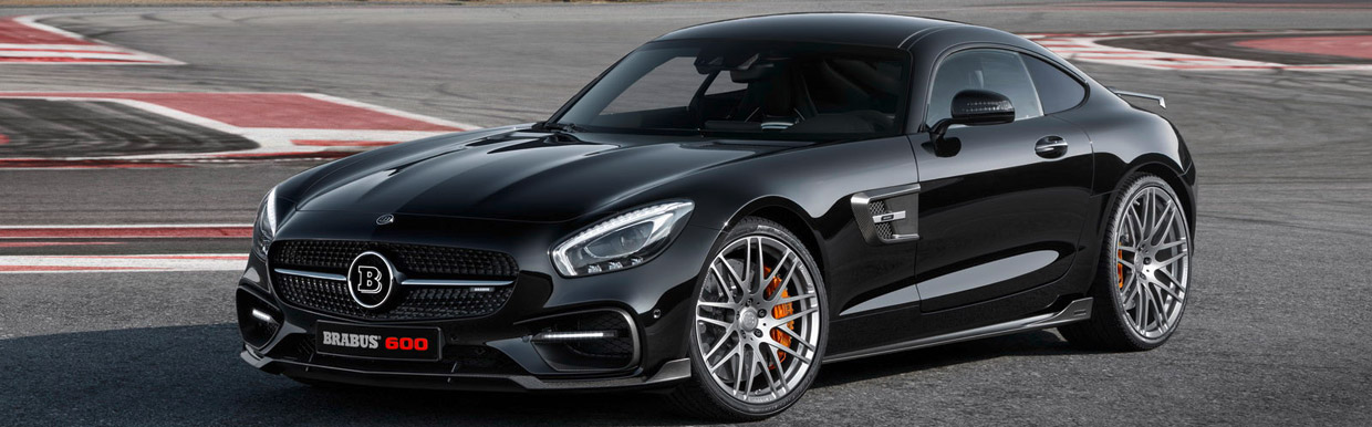 BRABUS Mercedes-AMG GT S Side View