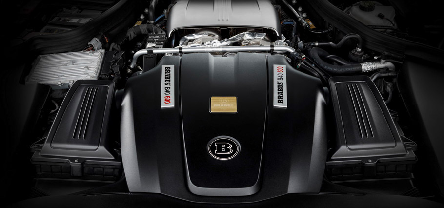 BRABUS Mercedes-AMG GT S  Engine