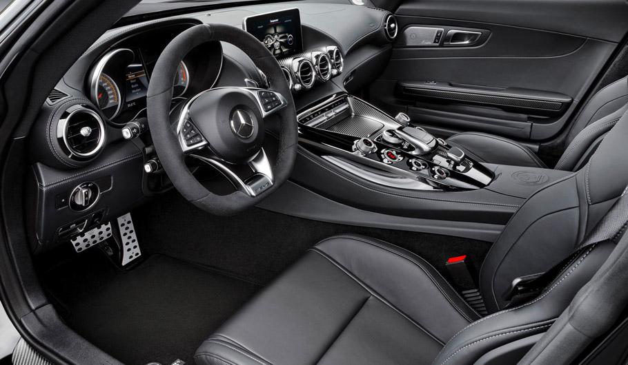 BRABUS Mercedes-AMG GT S Interior