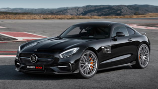 BRABUS Releases a Classy Styling and Performance Update for Mercedes-AMG GT S