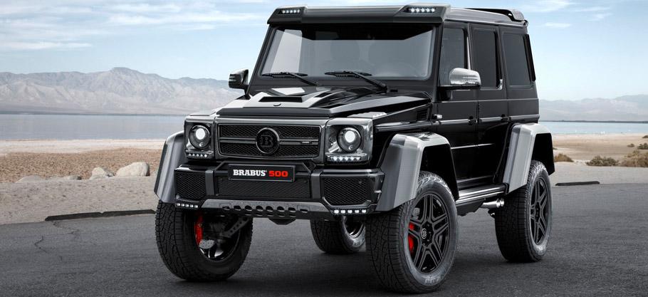 BRABUS Mercedes-Benz G 500 4x4² Front View