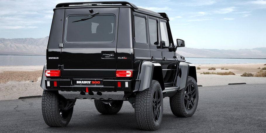 BRABUS Mercedes-Benz G 500 4x4² Rear View