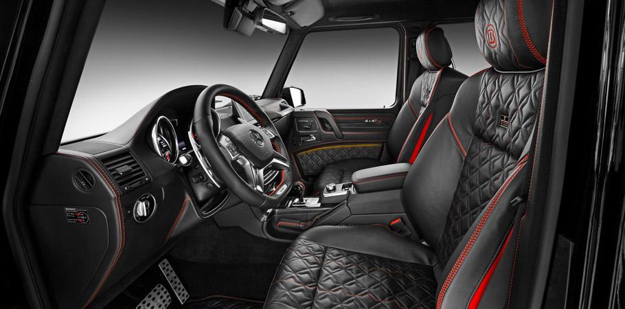 BRABUS Mercedes-Benz G 500 4x4² Interior