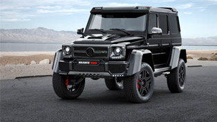 BRABUS Announces Mercedes-Benz G 500 4x4² Project for Frankfurt