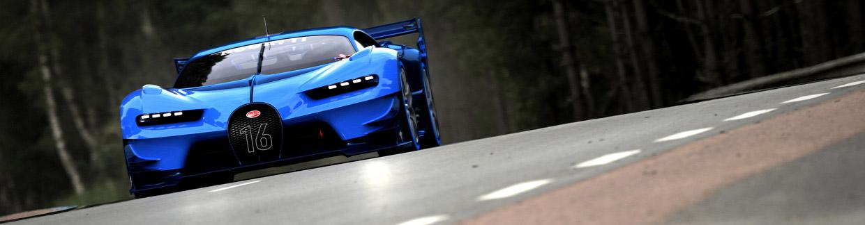 Bugatti Vision Gran Turismo Front View
