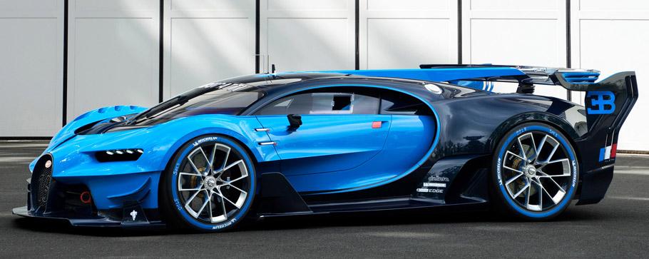 Bugatti Vision Gran Turismo  Side View