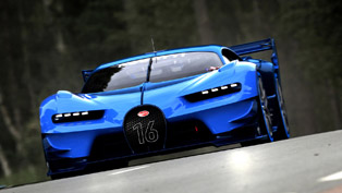 bugatti vision gran turismo concept is dedicated to the fans. takes the stage in frankfurt [video]