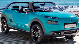 2015 Citroen Cactus M Concept Offers Adventures and Positive Emotions