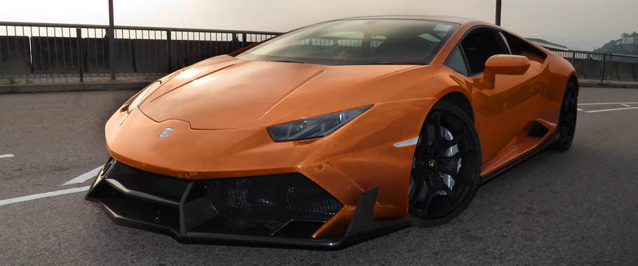 Lamborghini Huracan Limited Edition LP1088 E-GT by DMC Front View