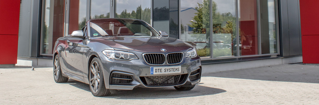 DTE-Systems BMW M235i Cabriolet Front View