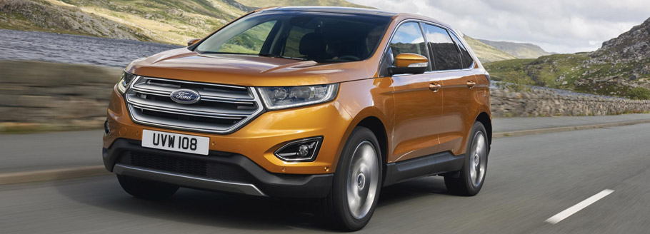 The Stylish Ford Edge Suv Will Be Offered In Europe With A Two Options Of Engine Transmission Pair The First One Is A  Kw   Liter Tdci Sel