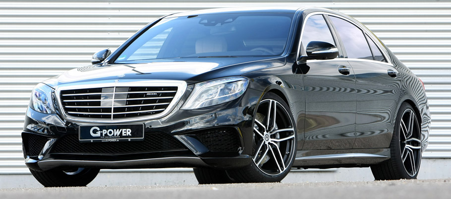 G-POWER Mercedes-AMG S63 Front View