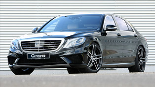 G-POWER Surprises with Custom 700+HP Mercedes-AMG S63