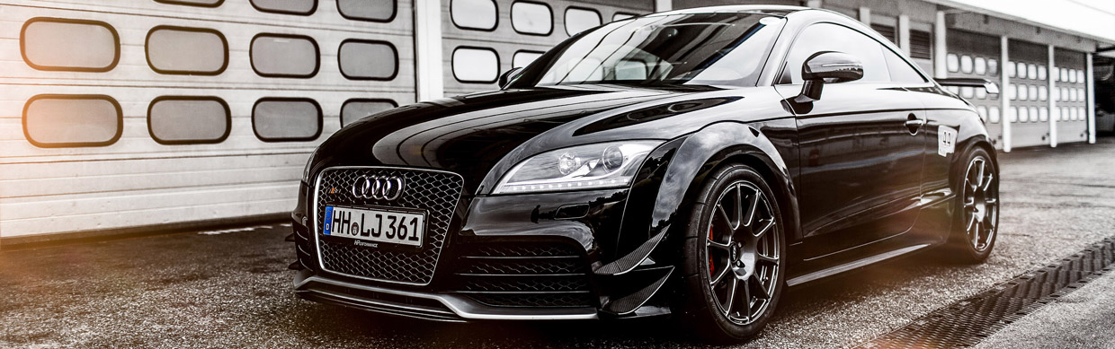 HPerformance Audi TT RS Clubsport  Front View