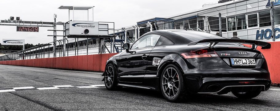 HPerformance Audi TT RS Clubsport Rear View