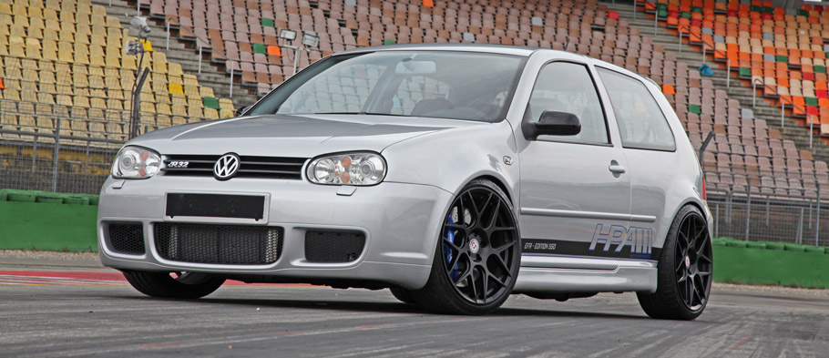 HPerformance Volkswagen Golf R32  Front and Side View