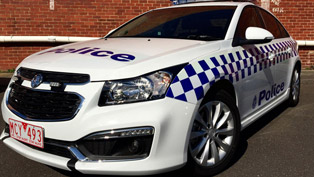 Holden Cruze Makes Debut as Victorian Police Vehicle