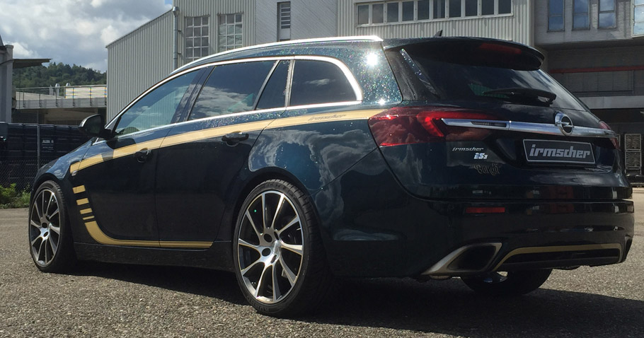 Irmscher Opel Insignia is3 Bandit Rear View