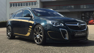 irmscher releases special edition opel insignia is3 called 'bandit'
