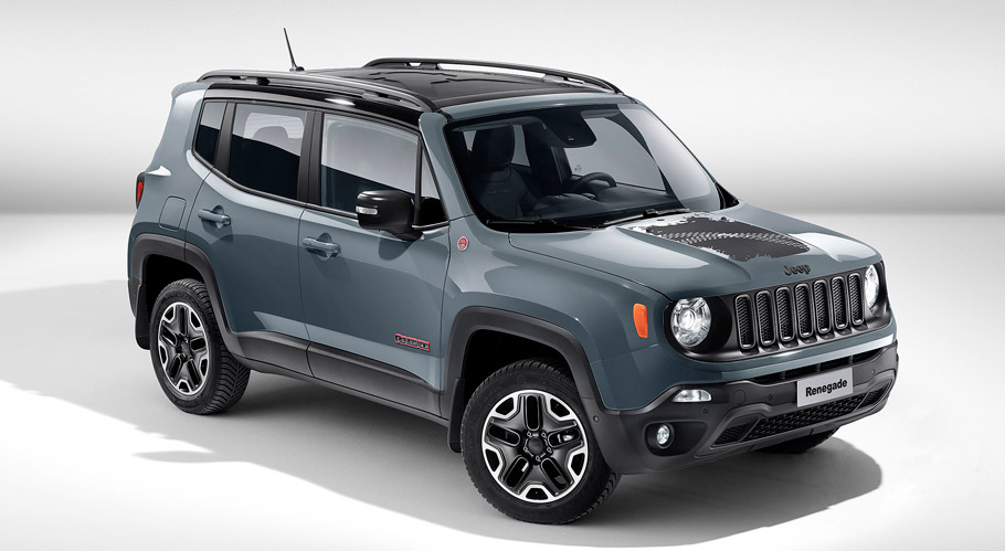 Jeep Renegade Trailhawk Front View