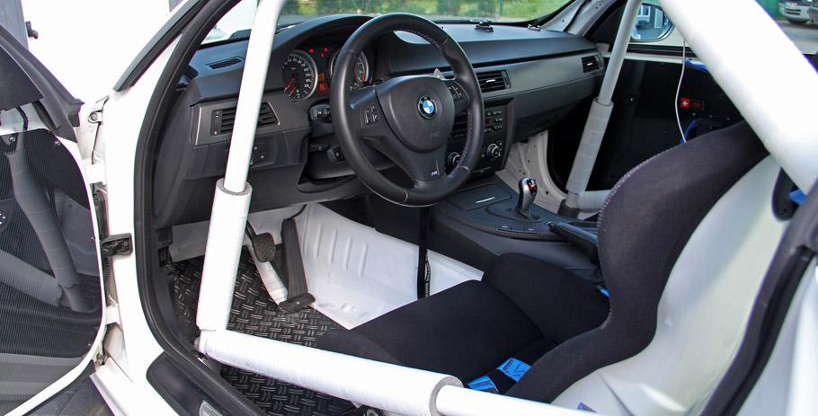 KBR Motorsport BMW E92 M3 Clubsport Interior