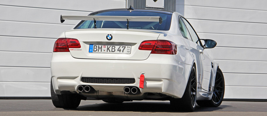 KBR Motorsport BMW E92 M3 Clubsport Rear View