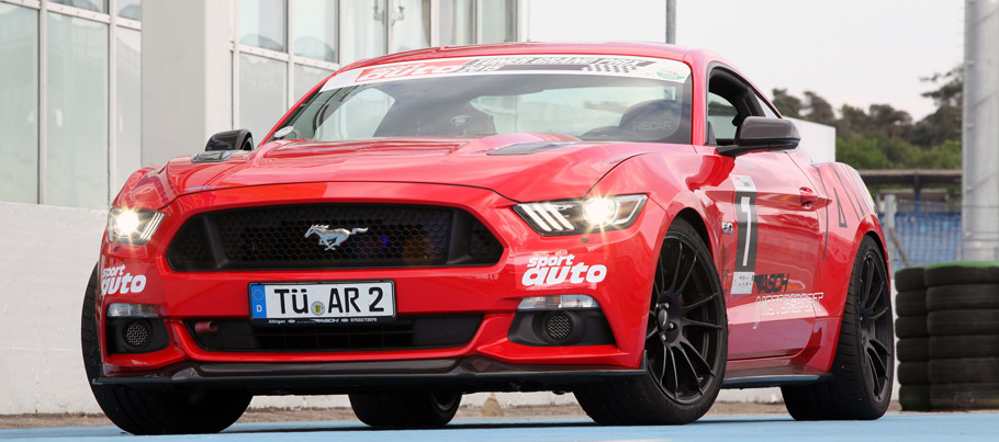KW Automotive Ford Mustang Front View