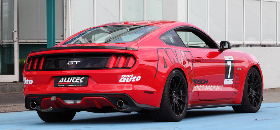 KW Automotive Ford Mustang Rear View