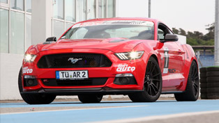 Ford Mustang with Better Driving Behavior. Video Previews Why