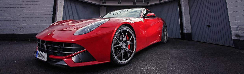 LOMA Ferrari F12 Berlinetta Front View