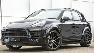 lumma design made special upgrades for porsche cayenne gtr