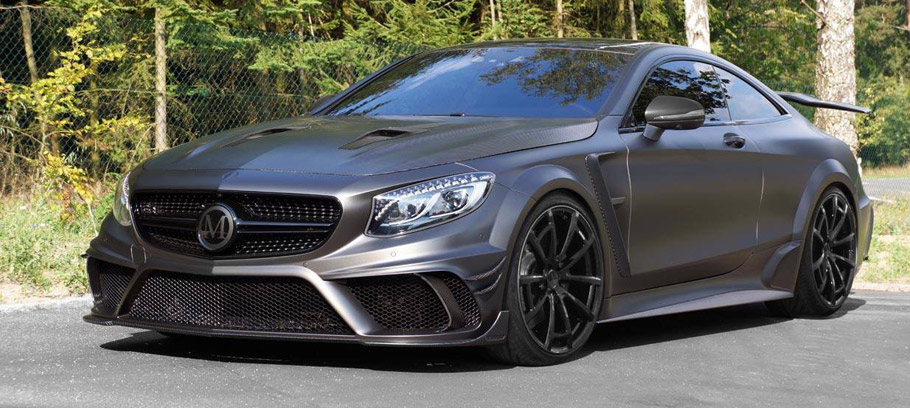MANSORY Mercedes-AMG S63 Coupe Black Edition Front View