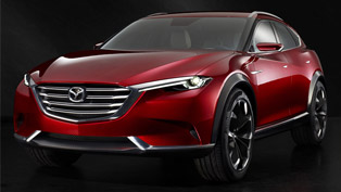 Mazda KOERU Concept Was Unveiled Today at the 2015 FIAA!