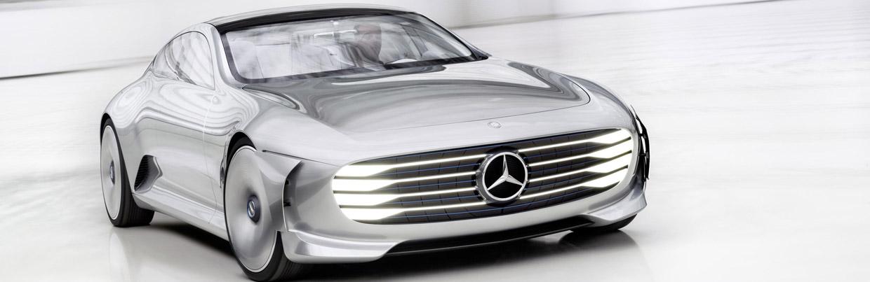 Mercedes-Benz Concept IAA Front View