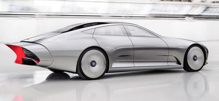 Mercedes-Benz Concept IAA - Aerodynamics