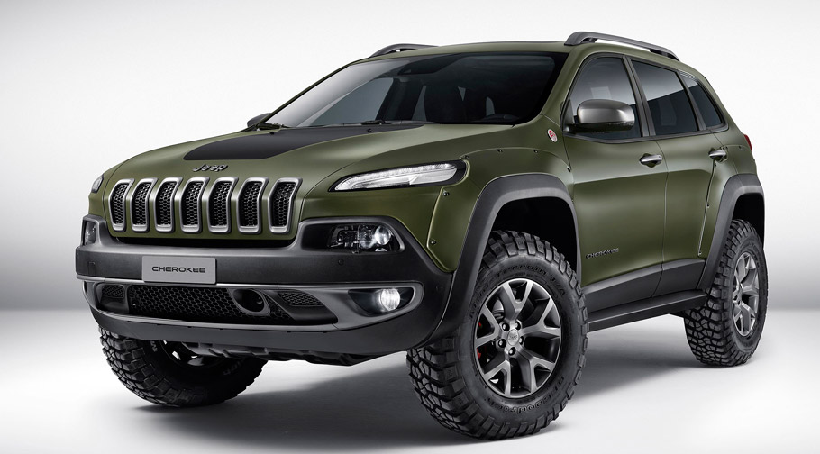 Jeep Cherokee KrawLer Front View