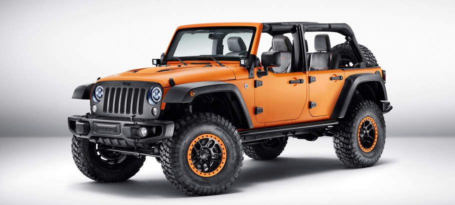 Jeep Wrangler Rubicon Sunriser Front View
