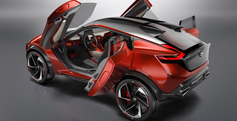 Nissan Gripz Concept Rear View