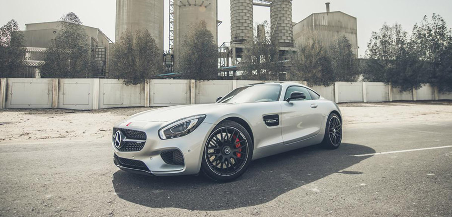 PP-Performance Mercedes-AMG GT S Front and Side View