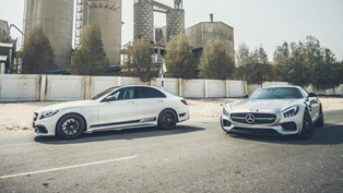 Mercedes-AMG GT S and C63 S With Extra 100HP by PP-Performance