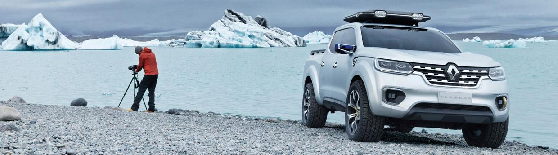 Renault Alaskan Concept Front View